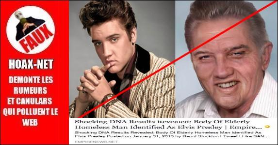 La deuxième mort d'Elvis PRESLEY !