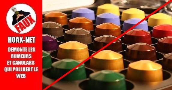 Capsules de café: une dose de cancer à chaque fois
