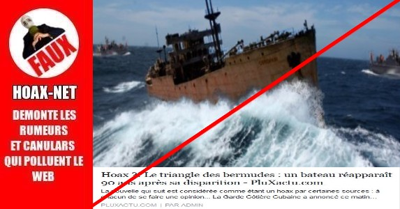 Le triangle des Bermudes : un bateau n'est pas réapparu  90 ans après sa disparition !