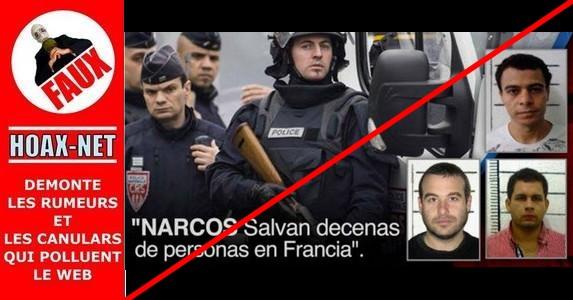 Non, des narcotrafiquants colombiens n'ont pas abattu des terroristes le 13 novembre