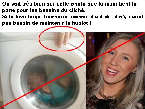 ECOSSE un enfant trisomique dans la machine a laver