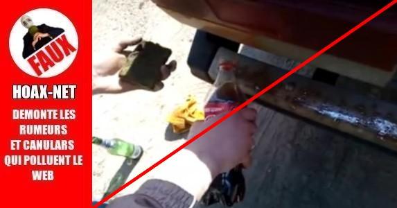 Enlever de la rouille avec du Coca-cola !