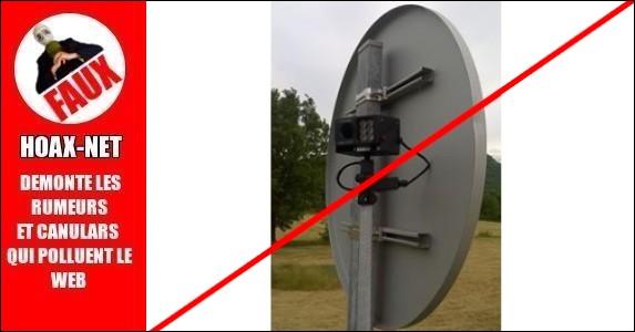 NON, ce n'est pas un nouveau radar juste après la maison de pays à Mallemoisson