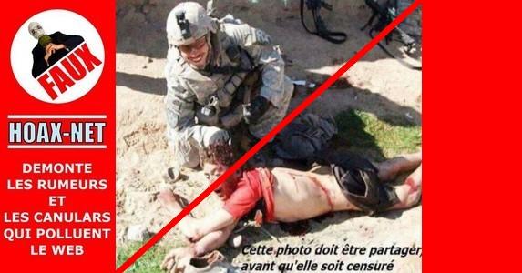 NON, ce n'est pas un soldat Israélien qui se prend en photo avec un Enfant Palestinien qu'il vient de torturer !