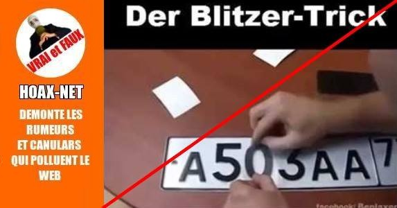 Vidéo autocollants anti-radars