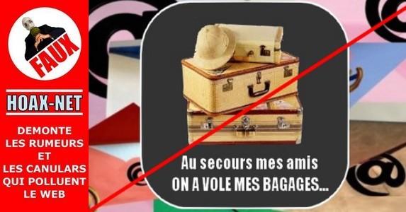 Au secours mes amis, on a volé mes bagages !