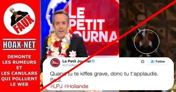 Non, François Hollande ne s'est pas applaudi seul à Wallis-et-Futuna !