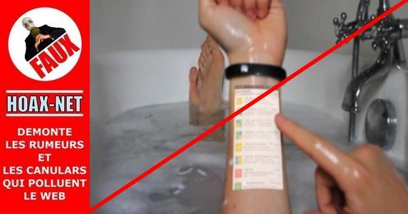NON, ce bracelet à votre bras ne pourra pas encore remplacer votre smartphone !