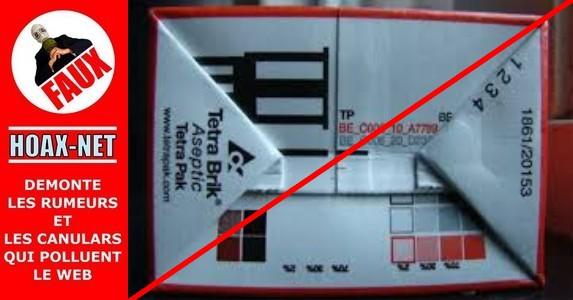 NON, ces chiffres ne montrent pas le nombre de fois que le lait a été recyclé ou remis en vente !