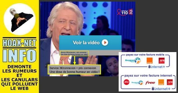 FACEBOOK : Gare aux vidéos buzz qui vous prélèvent de l'argent !