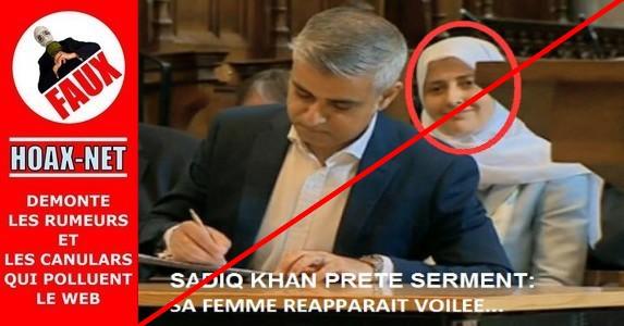 Les premières INTOX de l'ED sur le nouveau Maire musulman de Londres