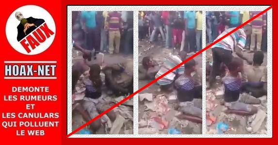 NON, ce ne sont pas des musulmans qui sont lynchés et brûlés vifs !