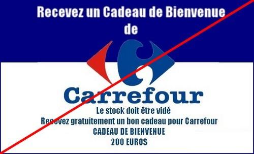 1-CARREFOUR - GAGNEZ 200 EUROS
