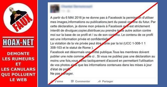Facebook et violation de vie privée : non, vos photos ne deviennent pas publiques