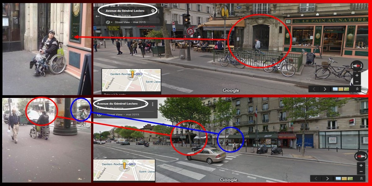 Handicapée a Paris-10