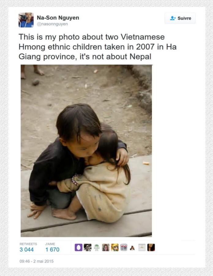 Les enfants du Népal--