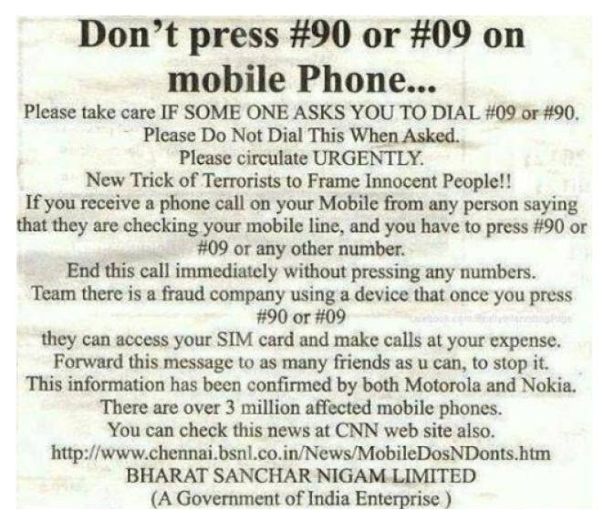 arnaque 5 telecom