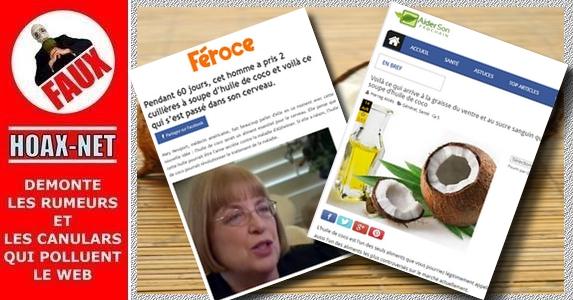 NON, l'huile de coco n'est pas une huile miracle «anti-tout» !