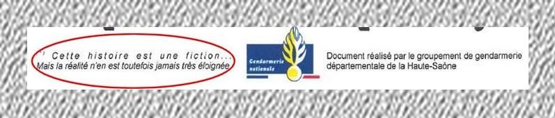Gendarmerie de Haute-Saône- Martine-