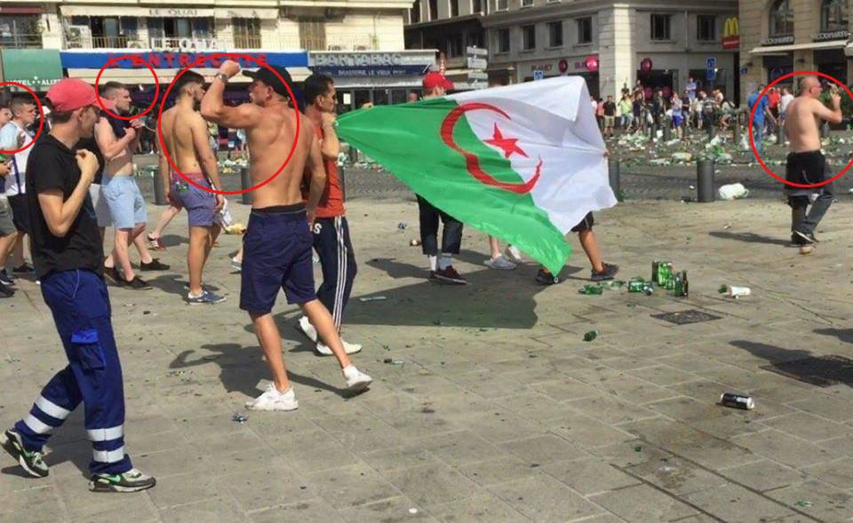 Hoax Marseille algériens