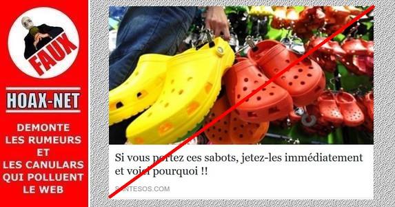 Non, ce n'est pas (forcément) la peine de jeter vos Crocs