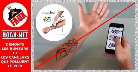 Non, le tatouage E-ink n'existe pas encore à ce jour.