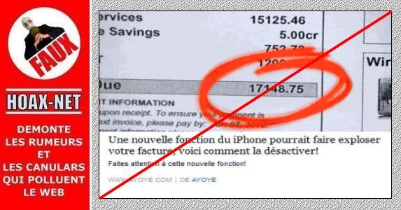 Non, l' iOS9 n'a pas de nouvelle fonction risquant de faire exploser votre facture !