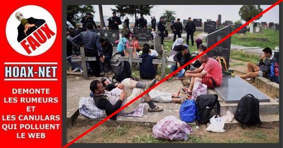 Manipulation autour d'un pseudo pique-nique islamique à Calais