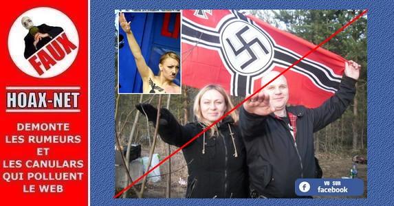NON, Inna Shevchenko et son mouvement «FEMEN» n'ont aucune sympathie pour les NAZIS !