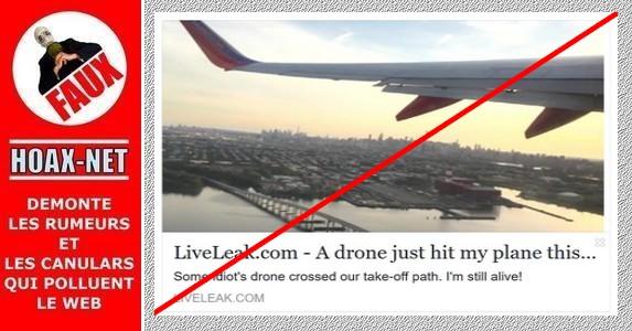 Non, un drone n'a pas frappé un avion de Southwest Airlines décollant à New York !