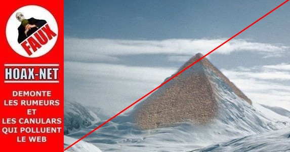 Non , il n'y a pas eu de pyramide découverte en Antarctique.