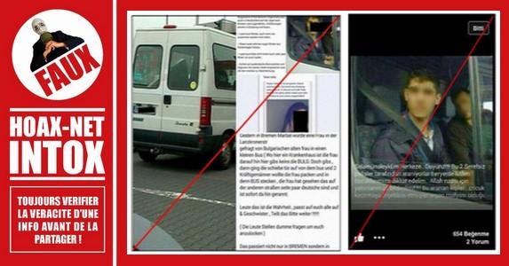 Les fausses rumeurs sur cette camionnette et ses 2 occupants «Bulgares»
