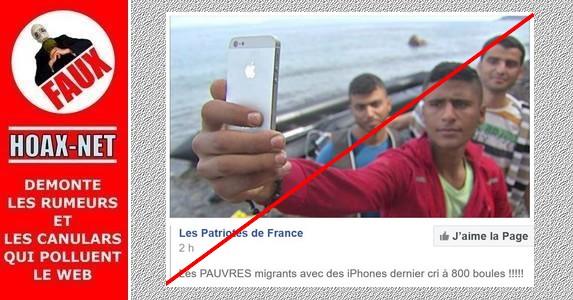 Non, les smartphones des migrants qui arrivent en Europe n'ont rien d'un luxe