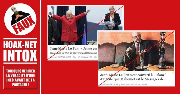 Vous en doutiez vraiment ? Non, Jean-Marie Le Pen ne se convertira pas à l'islam !