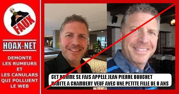 Non, cette personne n'est pas Jean-Pierre BOUCHET !