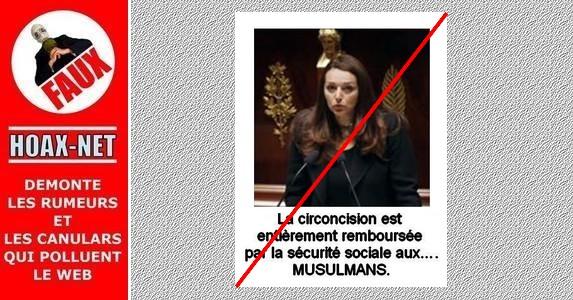Non, la Sécurité Sociale ne prendra pas en charge le coût de la circoncision des musulmans.