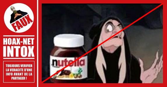 La désinformation concernant le Nutella.