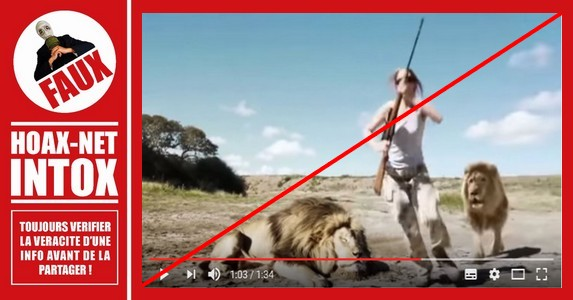 Non, ce lion ne s'est pas vengé des chasseurs !
