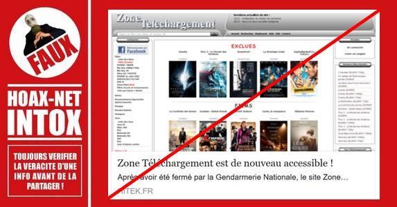 Le piège de zone-téléchargement.com