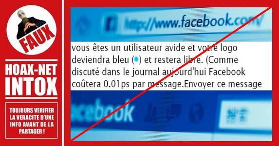 NON, les messages envoyés à vos amis Facebook, via Messenger, ne seront pas payants
