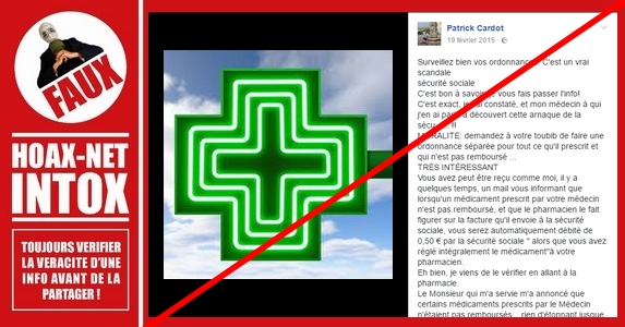 AUCUNE arnaque de la sécurité sociale sur les médicaments non remboursés 8aa8e4c339fc