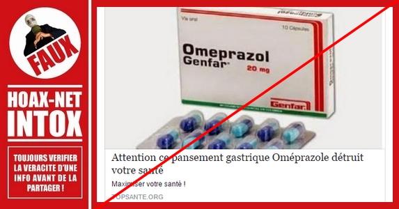 Non, l'oméprazole ne détruit pas votre santé