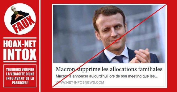 Non, Emmanuel Macron ne compte pas supprimer les allocations familiales