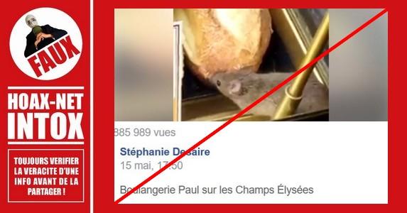 NON, ce n'est pas à la Boulangerie Paul sur les Champs Élysées