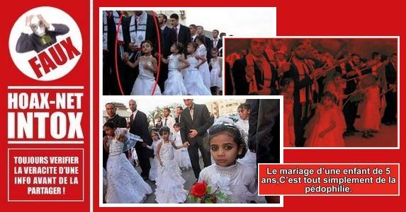NON, cette photo ne représente pas des mariages enfants/adultes au Yémen ou ailleurs.