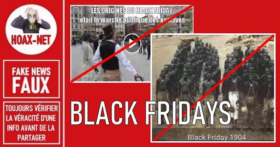 Non, l'origine du Black Friday n'est pas la braderie des esclaves sur le marché public !