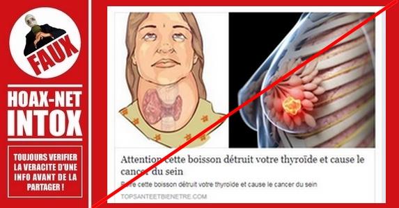 NON, le lait de soja ne détruit pas la thyroïde et ne cause pas le cancer du sein, mais …