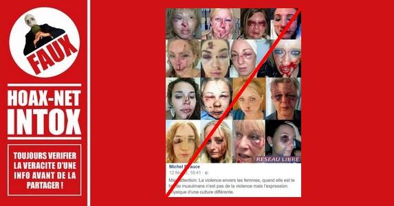 NON, ces femmes n'ont pas été agressées par des musulmans