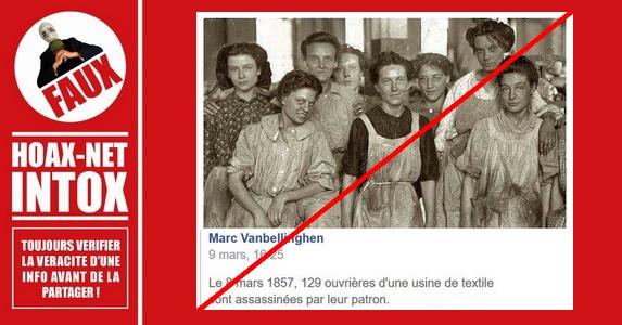 NON, Une manifestation de femmes aux Etats-Unis n'a pas donné «La Journée Internationale de la Femme»