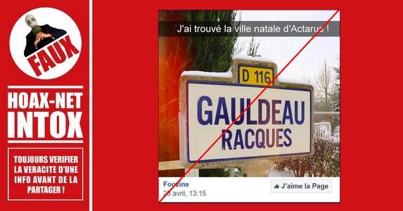Non, le nom de ces villes françaises n'existe pas